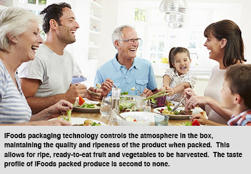 Gives growers the ability to deliver riper and better tasting produce worldwide
