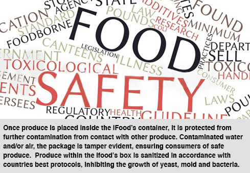 Significantly reduce food safety risks